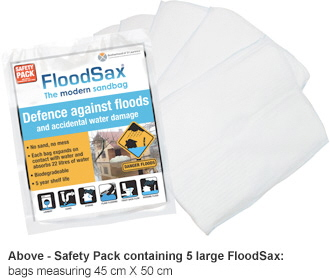 FloodSax Safety Pack